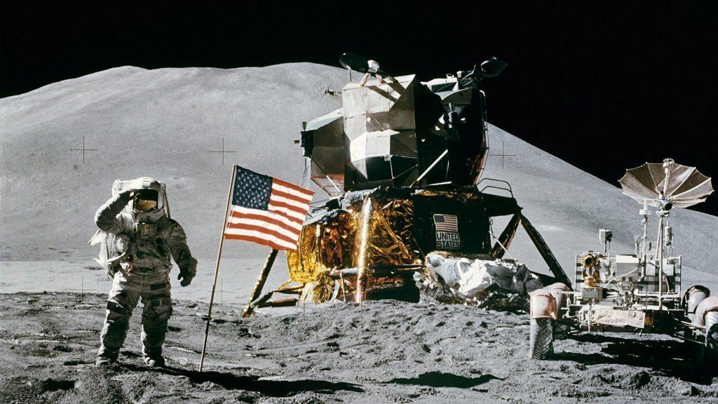 Человек на Луне!