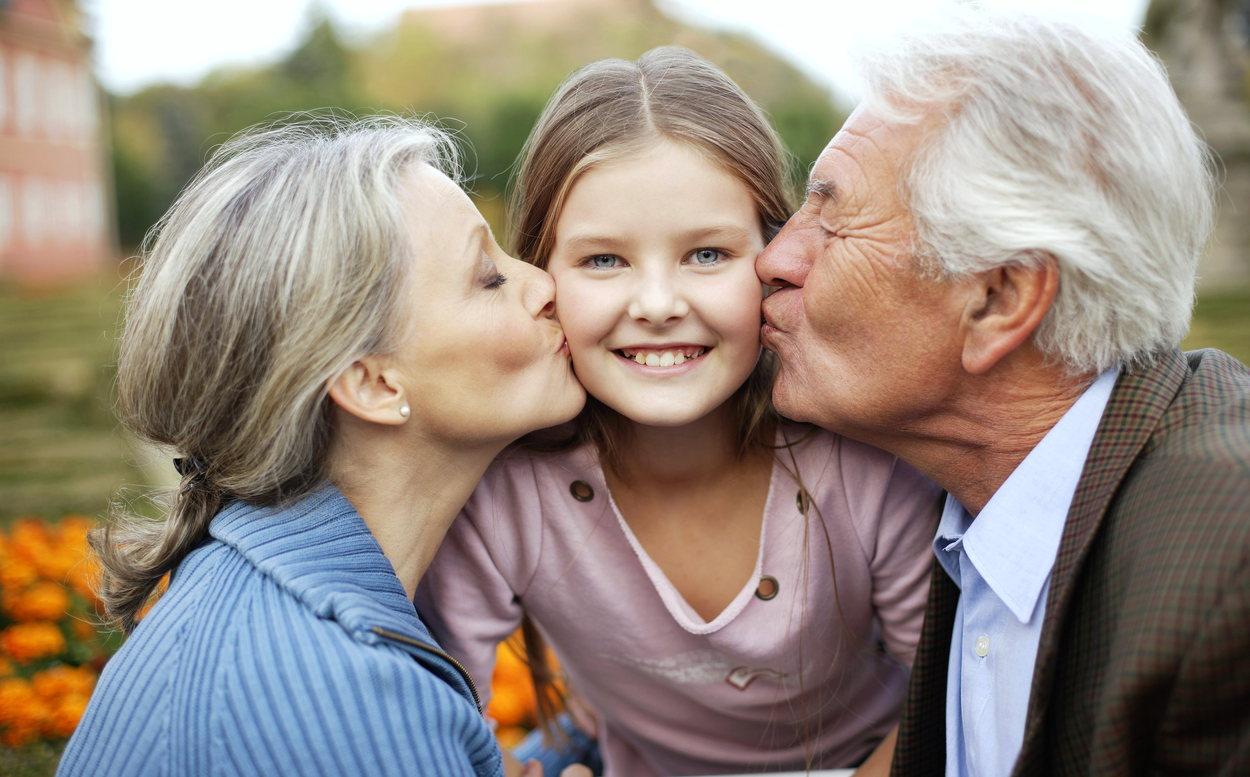 Бабуля и дедуля, с праздником вас!