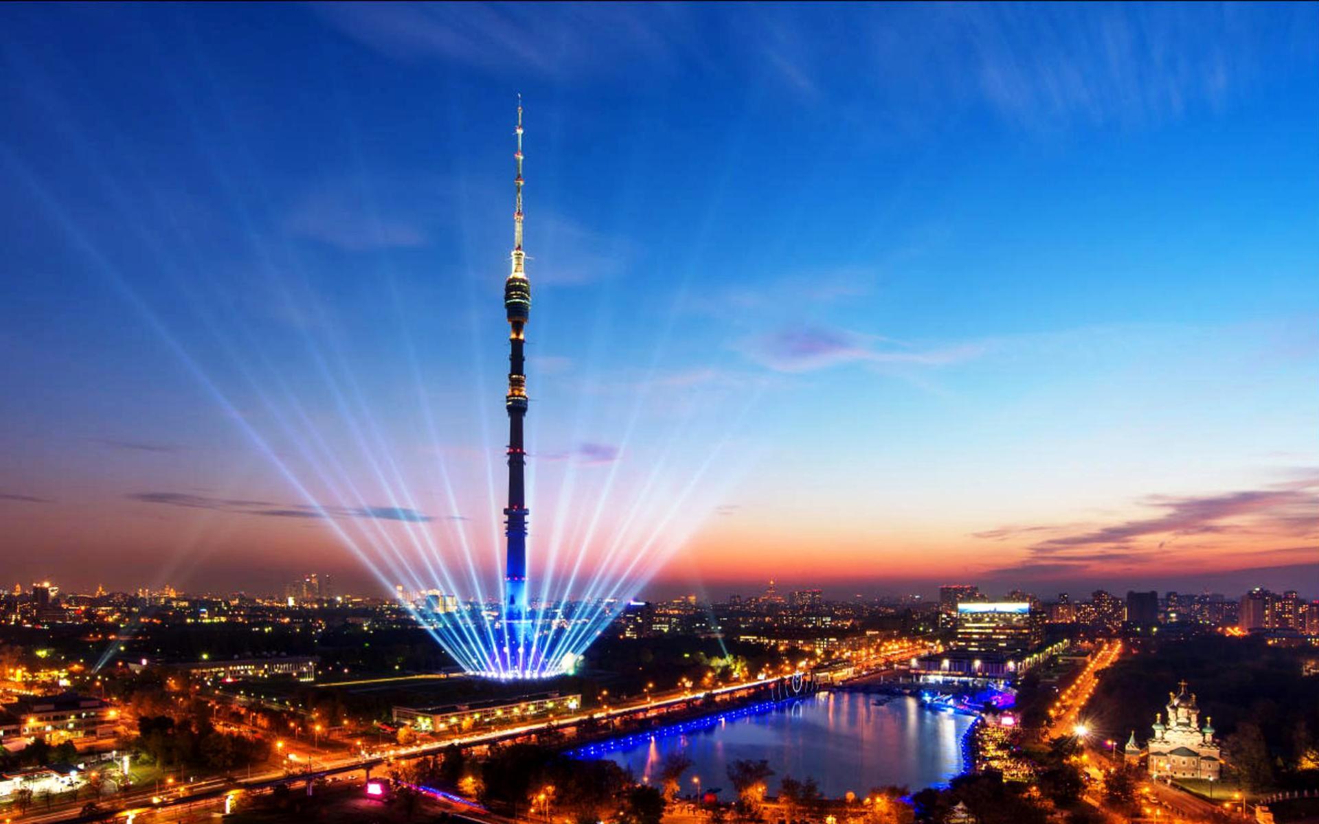 Останкинская башня отмечает 53-й день рождения!